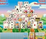 Кула от карти Tower Solitaire